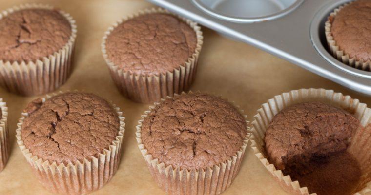 Fluffigste, gesunde Schokomuffins mit Suchtfaktor (gerne auch glutenfrei)