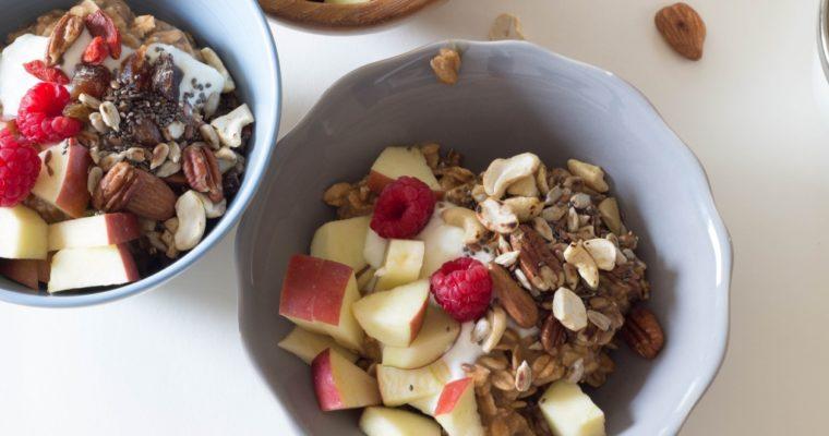 Fruchtiges, geniales Bircher-Müsli und ein total entspannter Muttertag