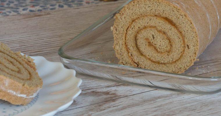 Dinkel-Biskuitroulade – auch gerne glutenfrei!